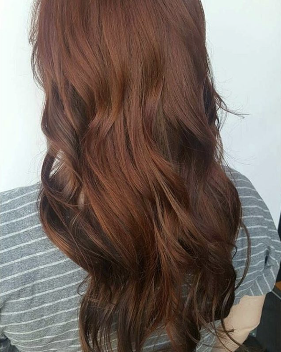 Aveda Red Vomor Extensions Color By Joseph Extensions And Style