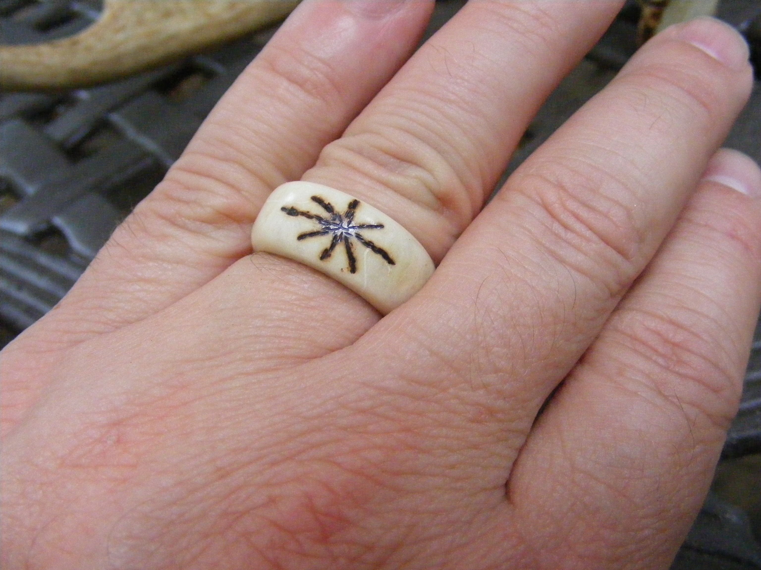 Antler Rings and How to Make Them | man crafting | Pinterest ...