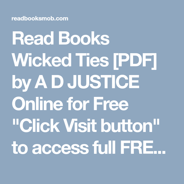 Wicked epub download ties
