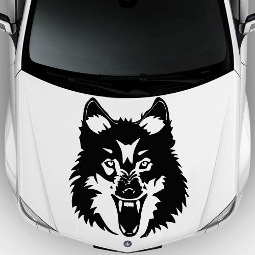 Car Decal Hood Sticker Wall Art Graphics Paint By DecorWallDecals - Best automobile graphics and patternsbest stickers on the car hood images on pinterest cars hoods