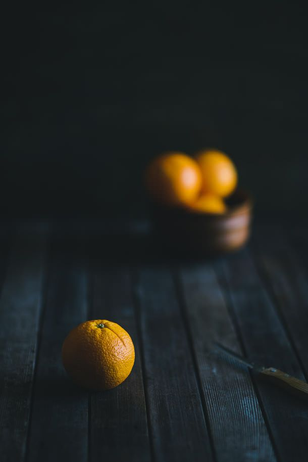 orange | Food. Art + Style. Photography: Food on black @ souvlaki for the soul |