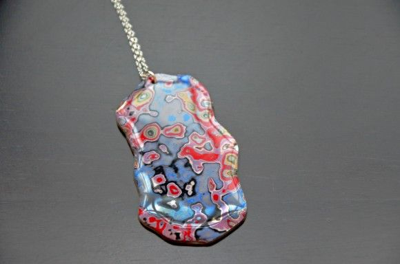 Rebel Nell ~ Detroit graffiti is made into funky cool jewelry