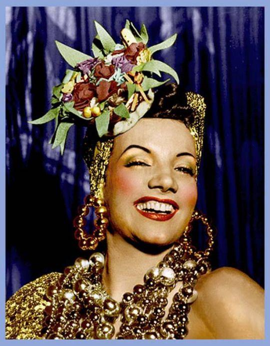 Carmen Miranda Forever Atrizes Carnaval