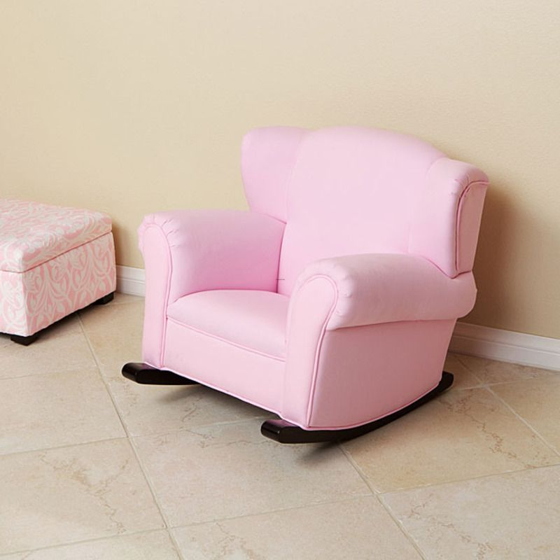 Child\'s Pink Fabric Rocking Chair | New House - Kids | Pinterest ...