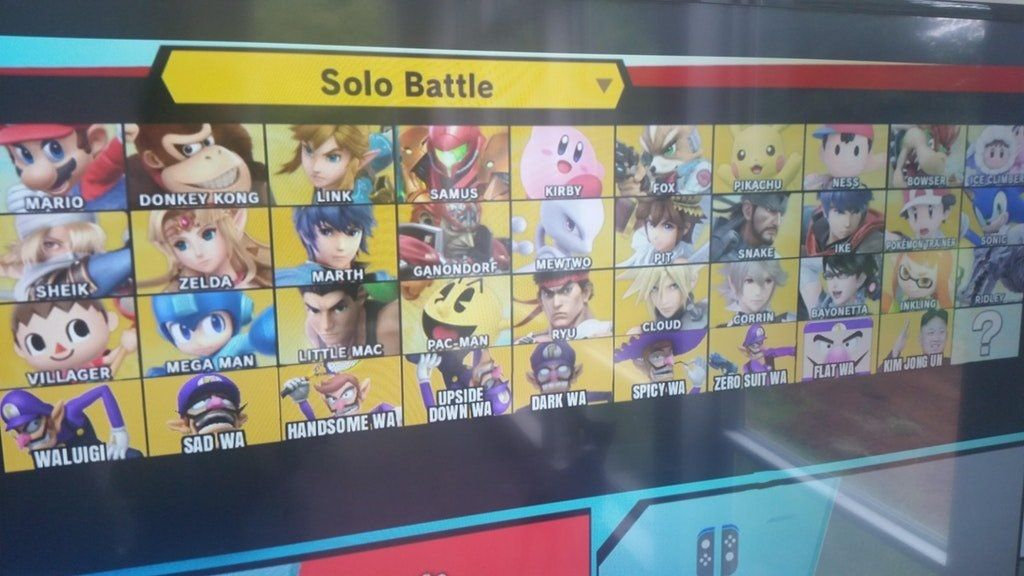 Smash Bros Ultimate - FULL ROSTER LEAKED! | VeeGee Gams | Super