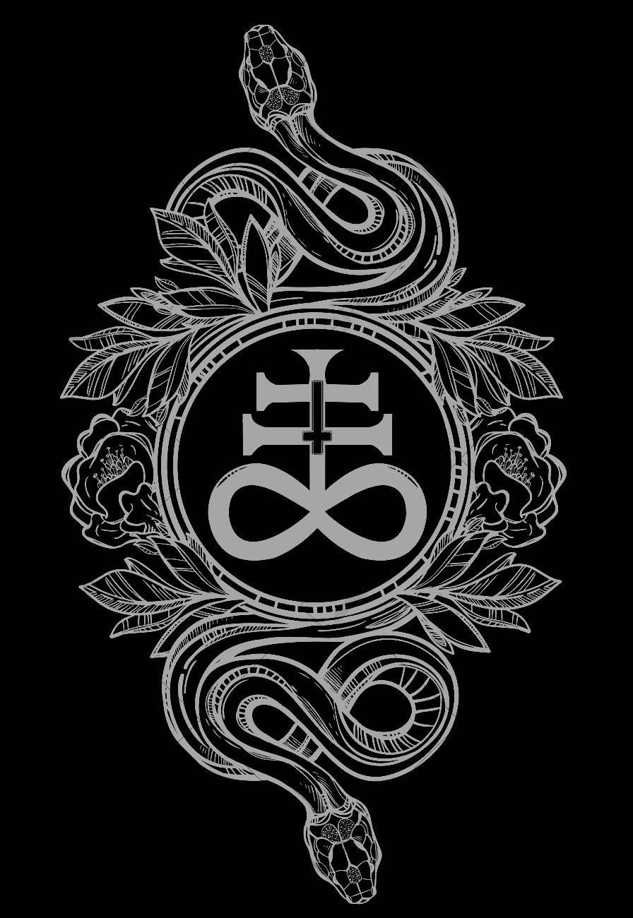 Chaosophia218 — Serpents with Leviathan Cross. The ...  Seal Of Lucifer Tattoo