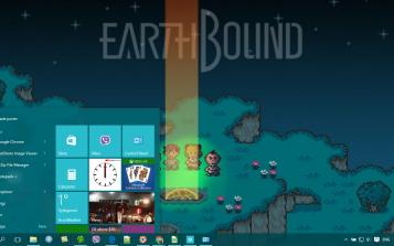 EarthBound Theme Desktop   wall1   Super nintendo, Games, Mother art
