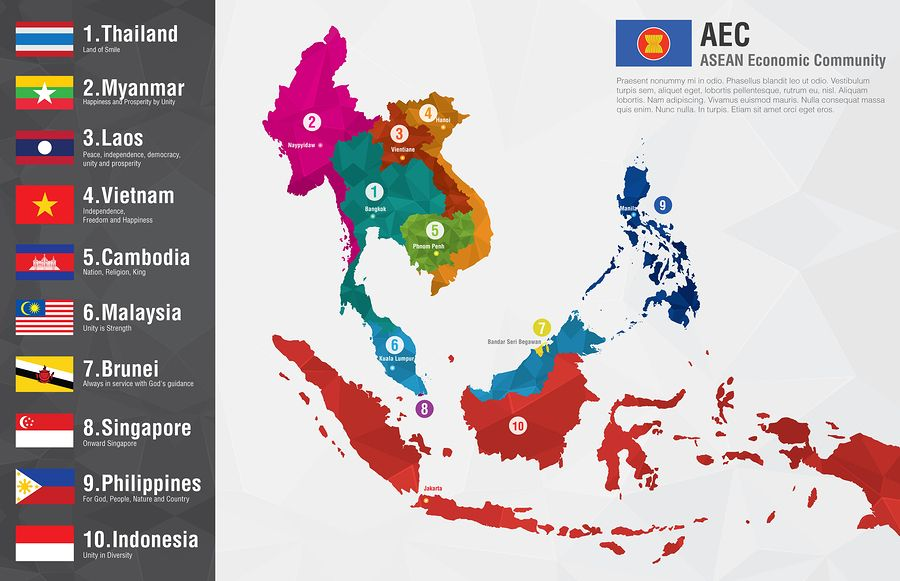 association of southeast asian nations photo
