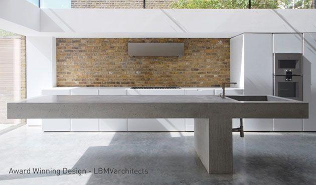 lbmv architects mit bildern  betonküche beton