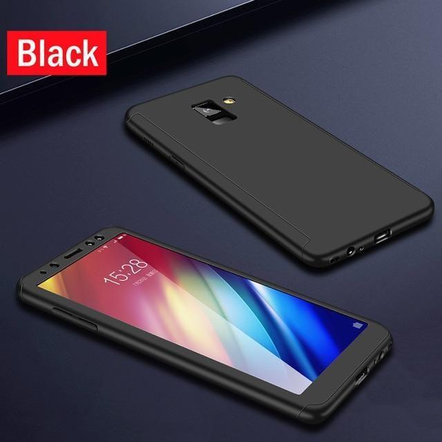 360 Full Cover Phone Case For Samsung Galaxy A40 A50 A60 A70 M30 M10 M