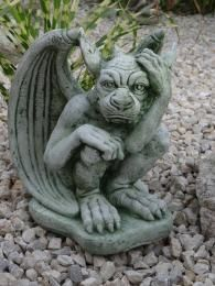 Steinfigur Gargoyle Mystische Gartendeko Aus Stein Steinfiguren Mystisch Steine