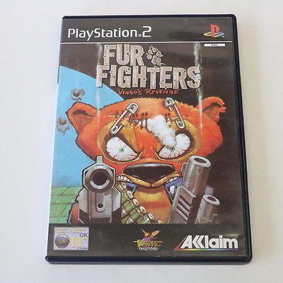 FUR FIGHTERS - VIGGO'S REVENGE - SONY PLAYSTATION 2 PS2 GAME - MINT