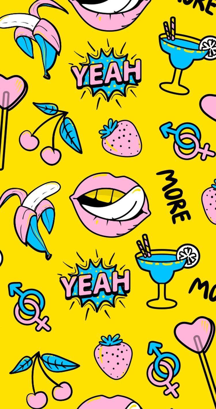 Pop Art Iphone Wallpaper