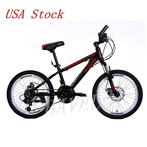 Amazon.com : Bavel Children Kids Bicycle 18 Speed Complete Mountain ...