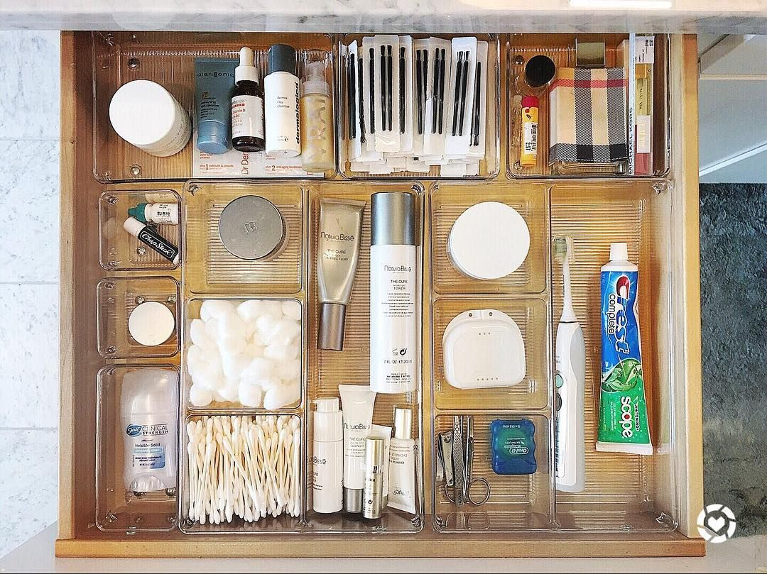 No Longer Does Your Hand Need To Act As An Excavator To Find Your Toothpaste Or Daily Bathroom Organization Bathroom Organisation Bathroom Cabinet Organization