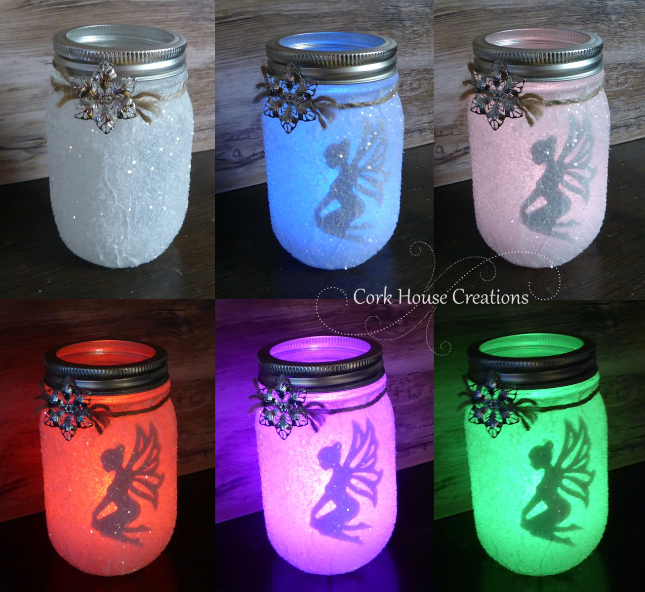 Color Changing Fairy Jar Lantern Now For SALE On Etsy