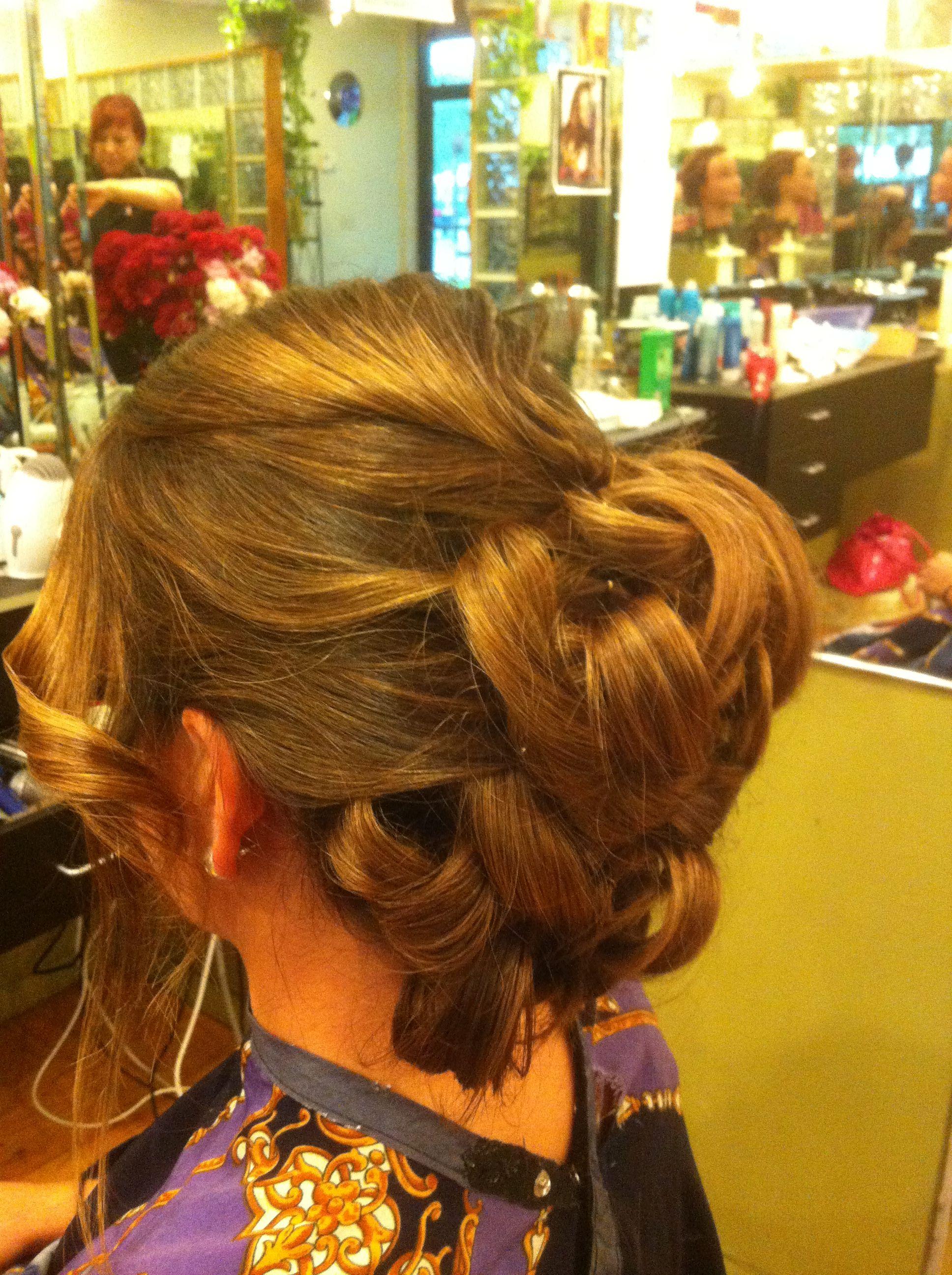 Wedding Updo Wedding updo, Updo styles, Hair styles