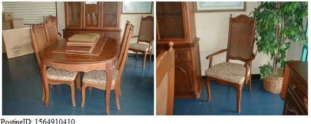 dining l chairs sets room table discontinued tables photos thomasville kitchen set
