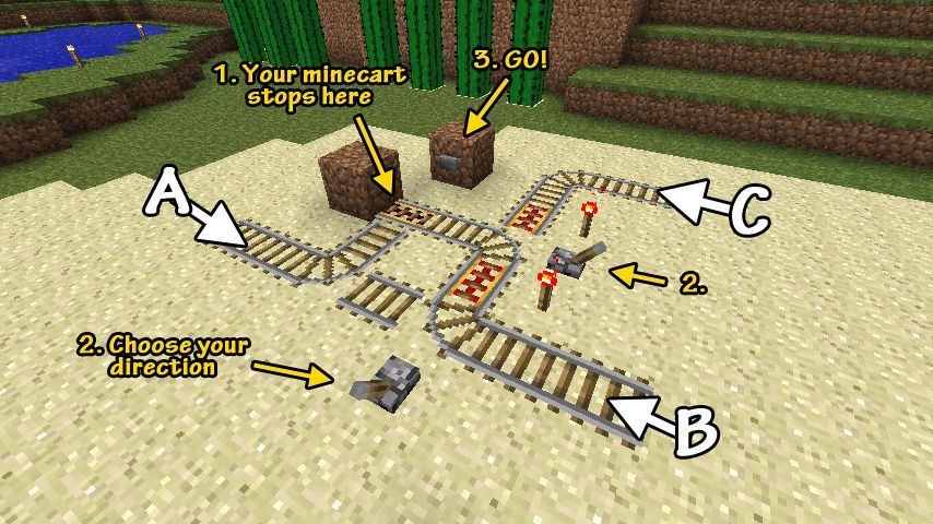 Awesome Minecraft Builds Beta 15 Simple 3way 4way - 2 Way Switch Minecraft