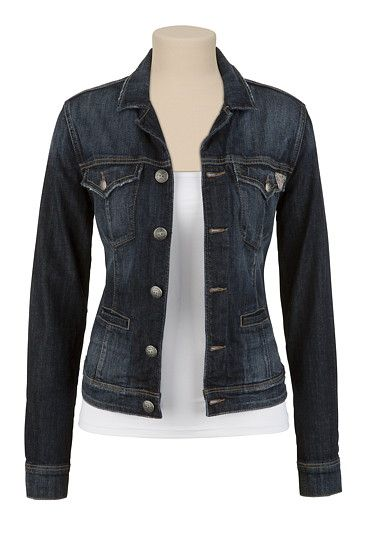 7e8a8c4843 Anyone wanna buy me this Silver jean jacket?   Fashion in 2019 ...
