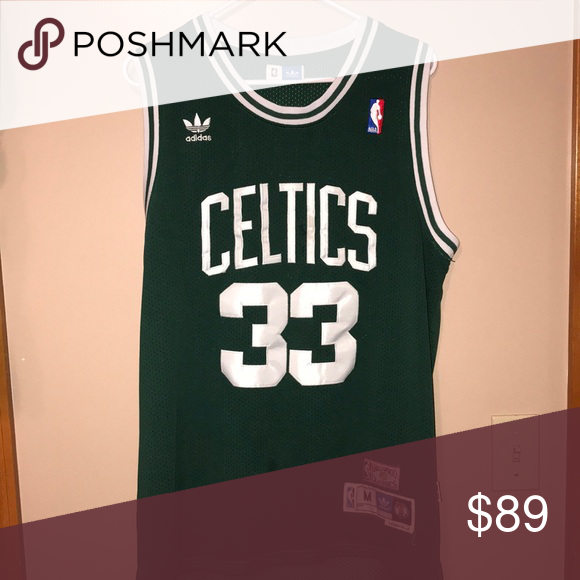 huge selection of ca5a5 3353d Boston Celtics Authentic Jersey-M-Larry Bird #33 Authentic ...