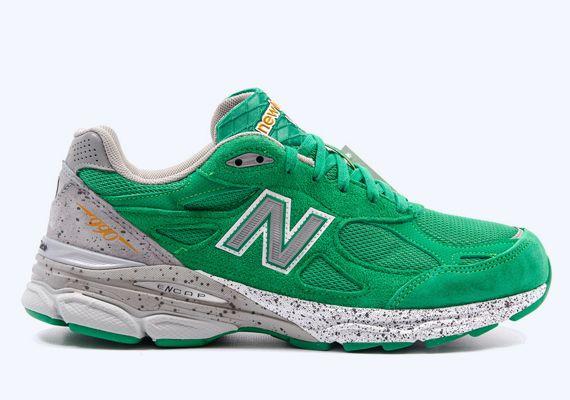new balance boston green