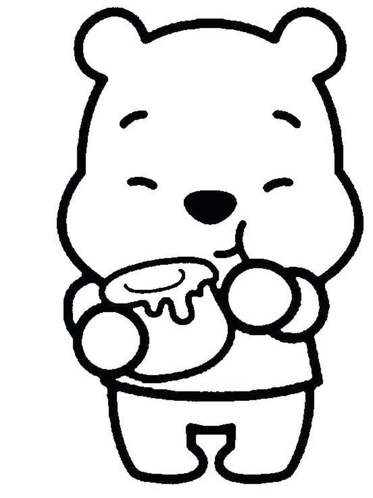 Coloring Pages Of Baby Winnie The Pooh And Friends We Have A Winnie The Pooh Coloring Page Coll In 2020 Cute Disney Drawings Cute Easy Drawings Cartoon Coloring Pages