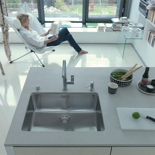 Miraculous Kubus Kbx110 55 Undermount Sink Franke Sinks Mixers Beutiful Home Inspiration Aditmahrainfo