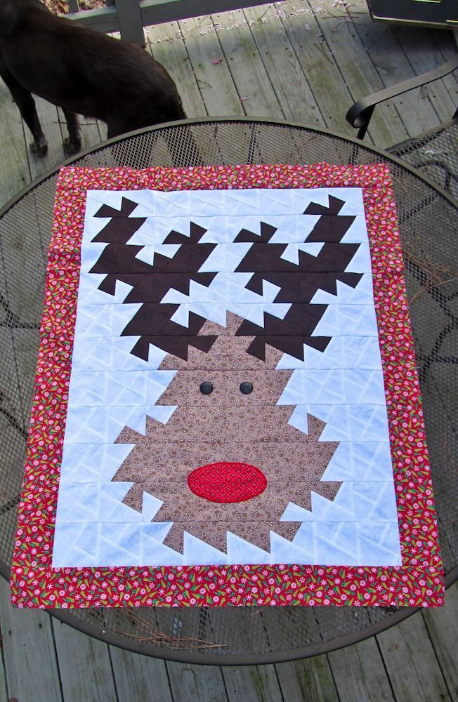 Fun Quilt Using The Mini Twister Tool Rudolph Twister