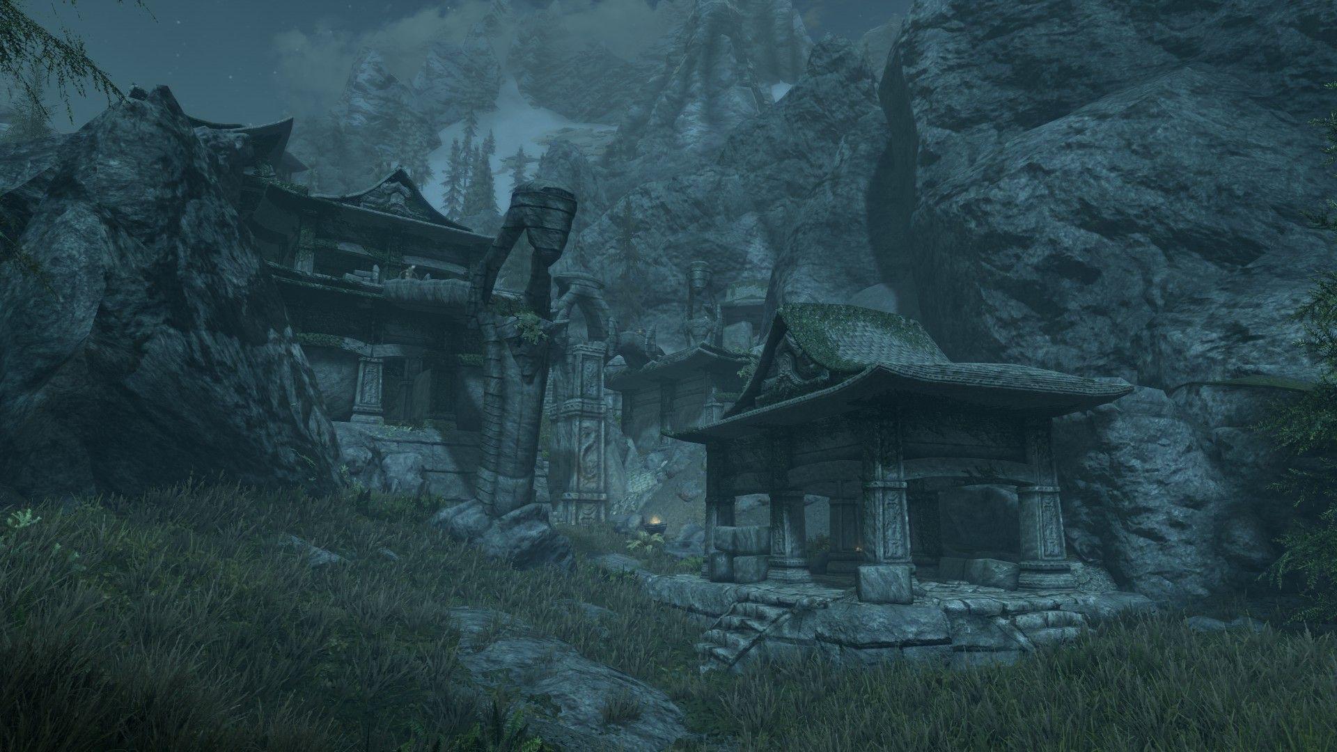 Akaviri Ruins of Savirien-Chorak at Skyrim Special Edition