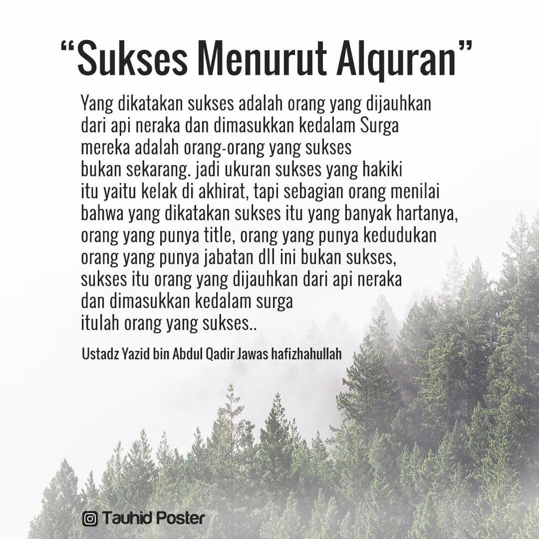 Sukses Menurut Al Quran Kata Kata Indah Ungkapan Romantis Motivasi