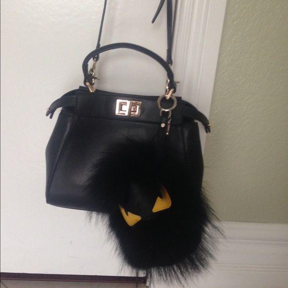Fendi Monster Bag Used