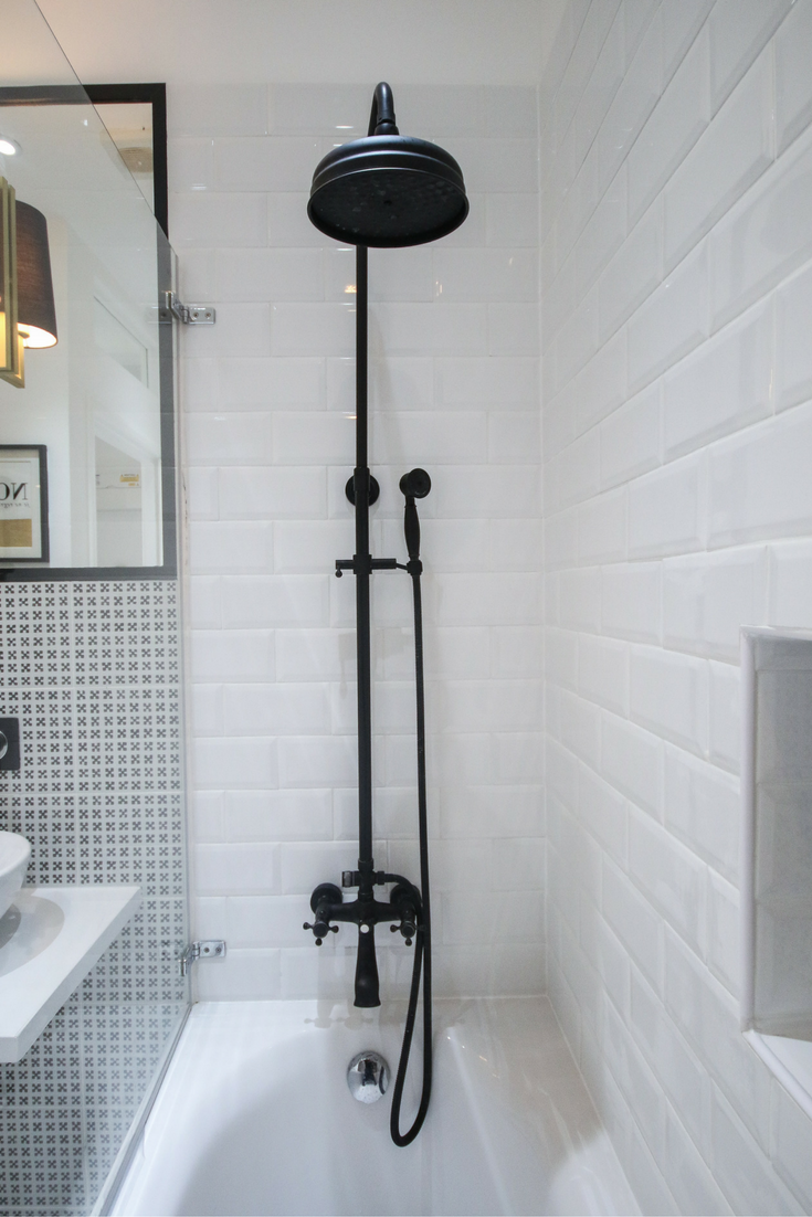 Pin by Louetta Anitra on Time Collects   Pinterest   Black shower ...