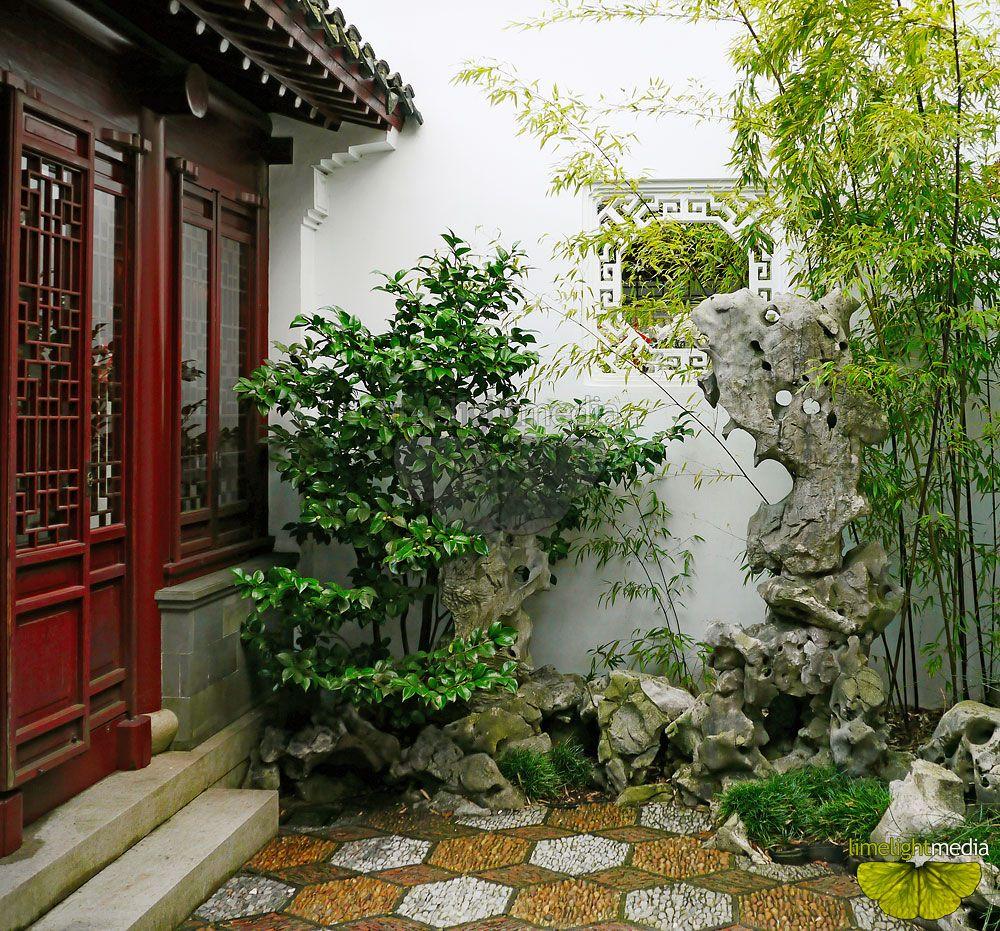 Chinese garden design - Entrance To Dr Sun Yat Sen Garden In Vancouver A Nice Small Chinese Garden