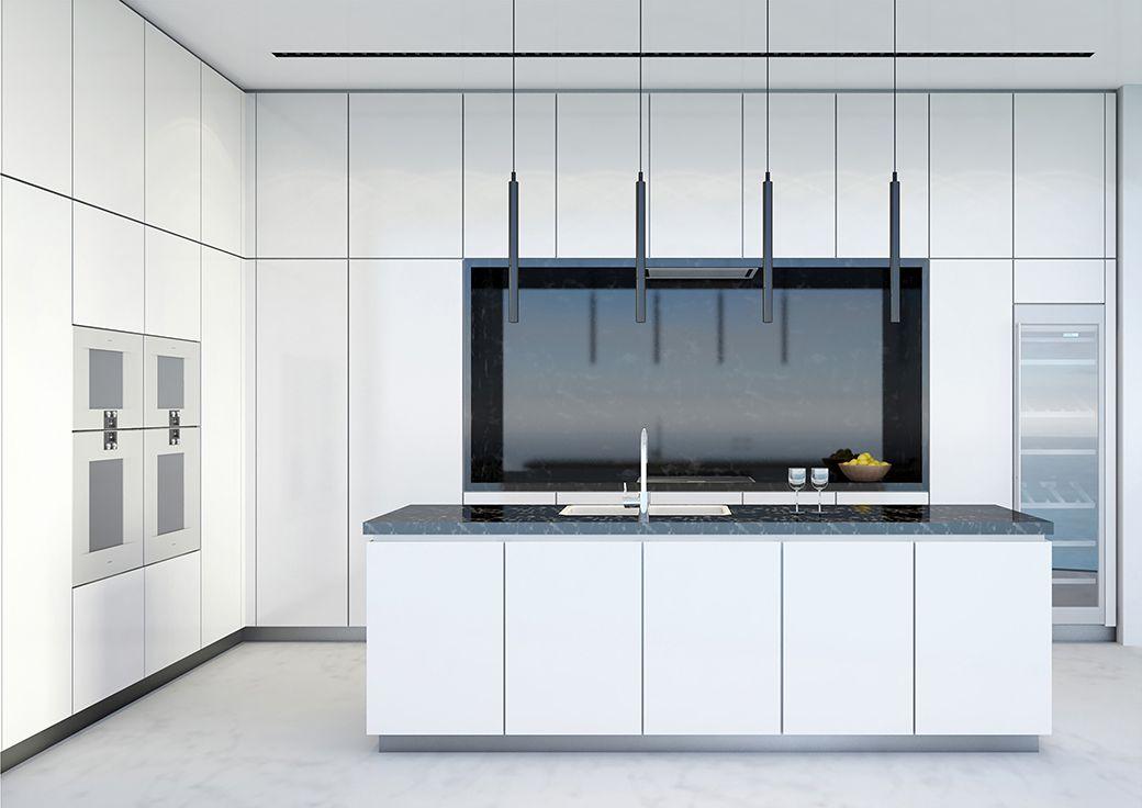 Aston Martin Residences Kitchen Miami Apartment Penthouse For Sale Miami Condo