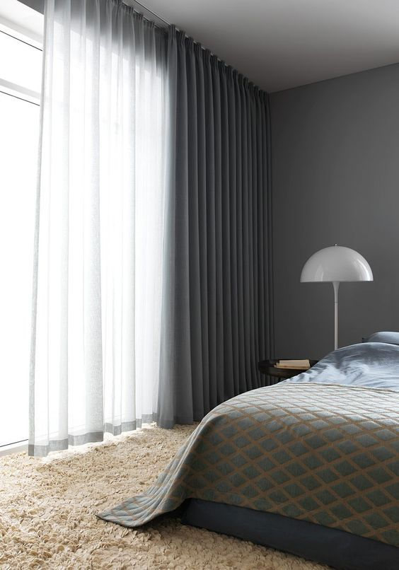 Types Of Curtains You Can Have In Your Home And Office | Vorhänge,  Schlafzimmer Und Gardinen