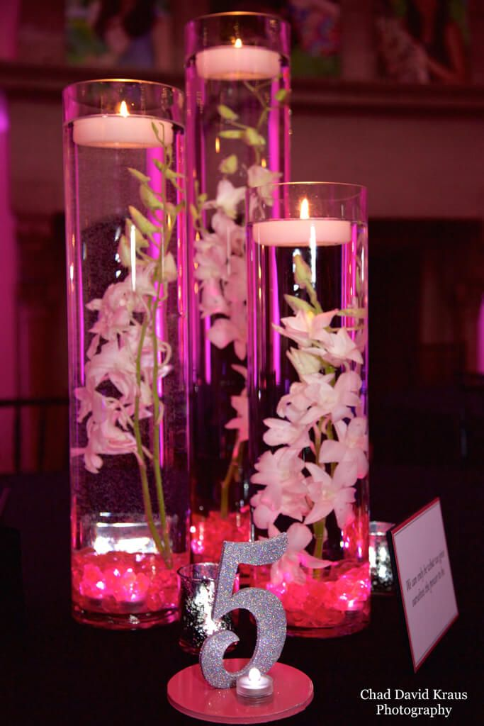 LED Orchid Centerpiece LED Orchid Centerpiece with Pink Chips Lights u0026 Custom Table Signs & LED Orchid Centerpiece LED Orchid Centerpiece with Pink Chips ... azcodes.com