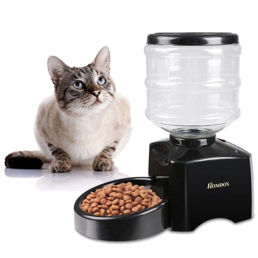 ด ส วนลดด ๆ Sp Wins เคร องให อาหารส ตว เล ยงอ ตโนม ต แบบต งเวลา ร น Automatic Feeder Black Wins เคร องให อาห Automatic Cat Feeder Pet Feeder Cat Feeder