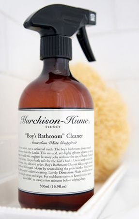 Murchison Hume Boys Bathroom Cleaner + Murchison Hume Cleaning Products  From Rain Collection