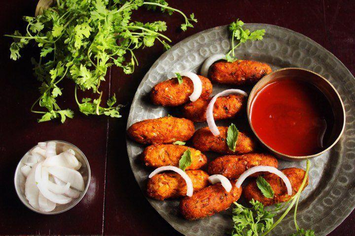 A vegetarian delight gpeats riyas food junction corn kebabs food forumfinder Choice Image