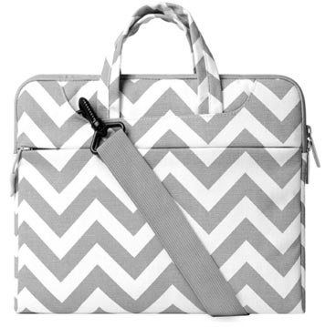 13 12 10 15 Neoprene Laptop Sleeve Case Cover 17 Laptop Sleeve Black and White Zigzag Chevrons Pattern Computer Sleeve