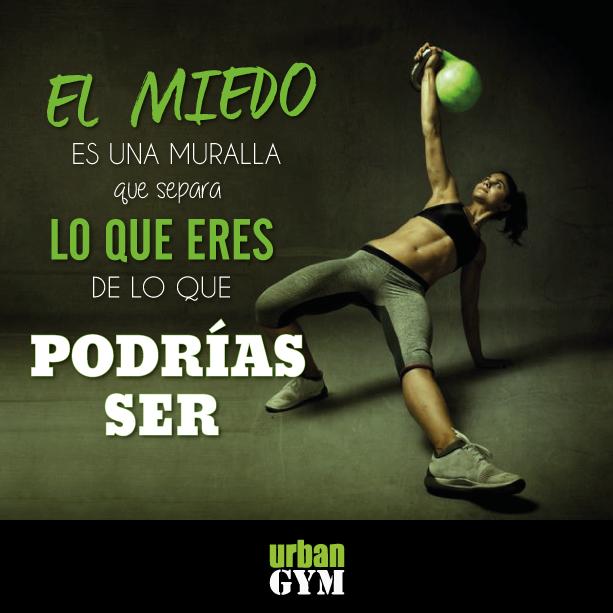 #Gym #Frases #Motivación #Fitness #Urban #Gimansios