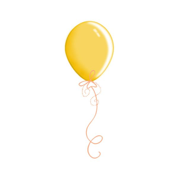 Yellow Balloon Png Liked On Polyvore Clothes Design Outfit Accessories Design