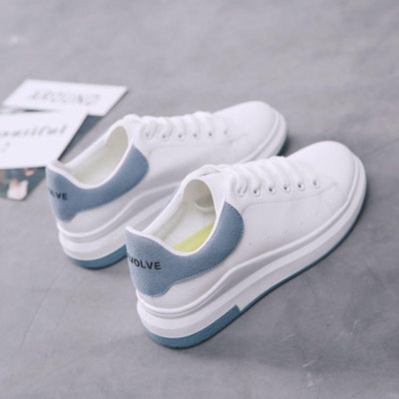 d17e7f69d56 Shoes woman 2018 Non-slip flat casual shoes women PU leather female shoes  women platform