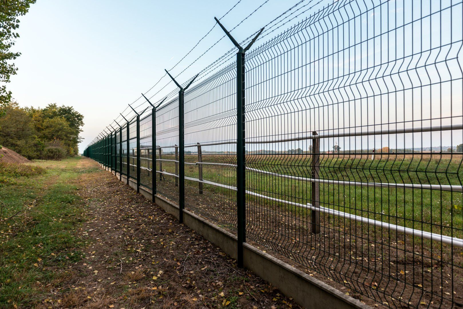 Chain Link Fences Affordable Fencing Co Llc Security Fence Stock Images Backgrounds Chain Link Fence