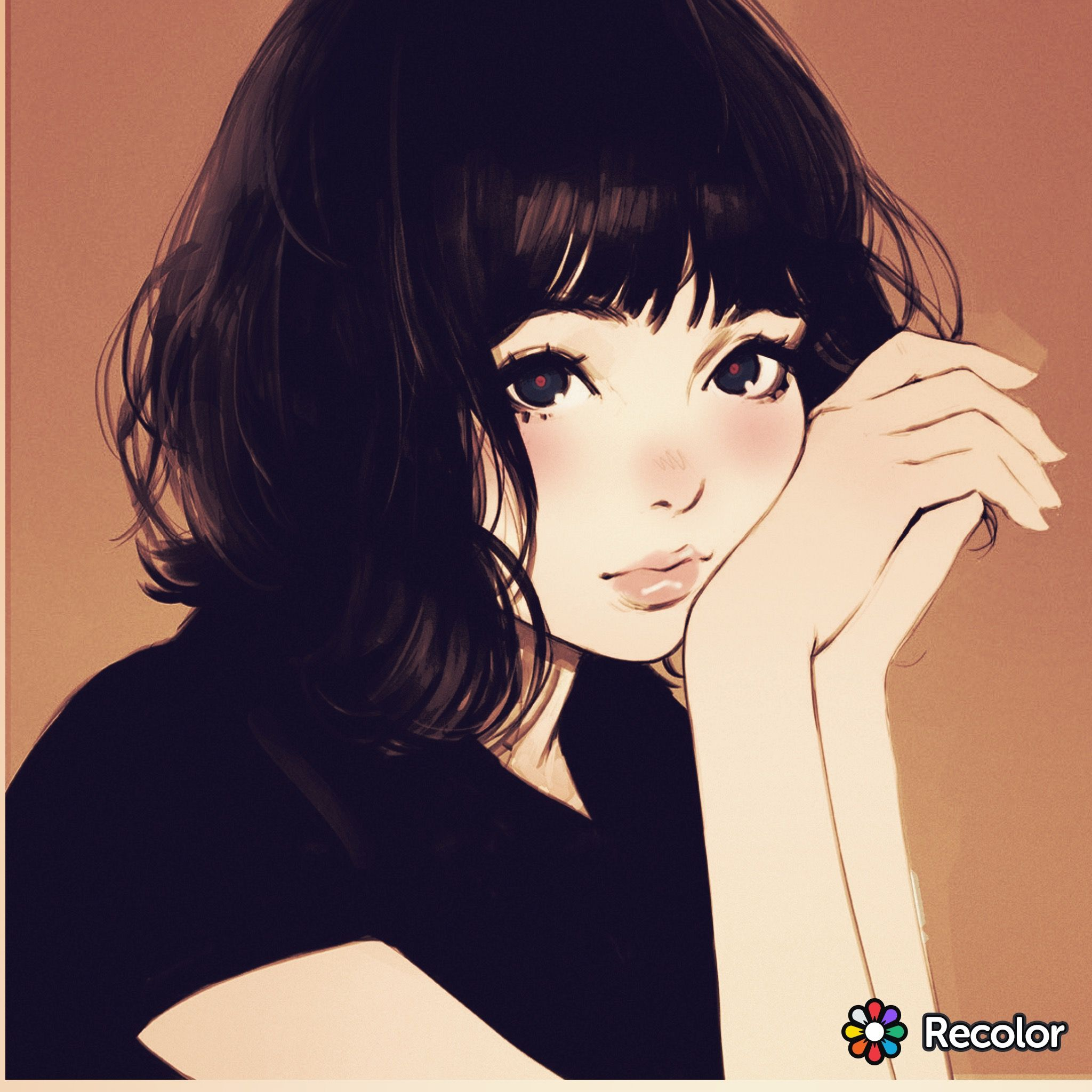 Kuvshinov Ilya Girls Cartoon Art Anime Art Digital Art Girl
