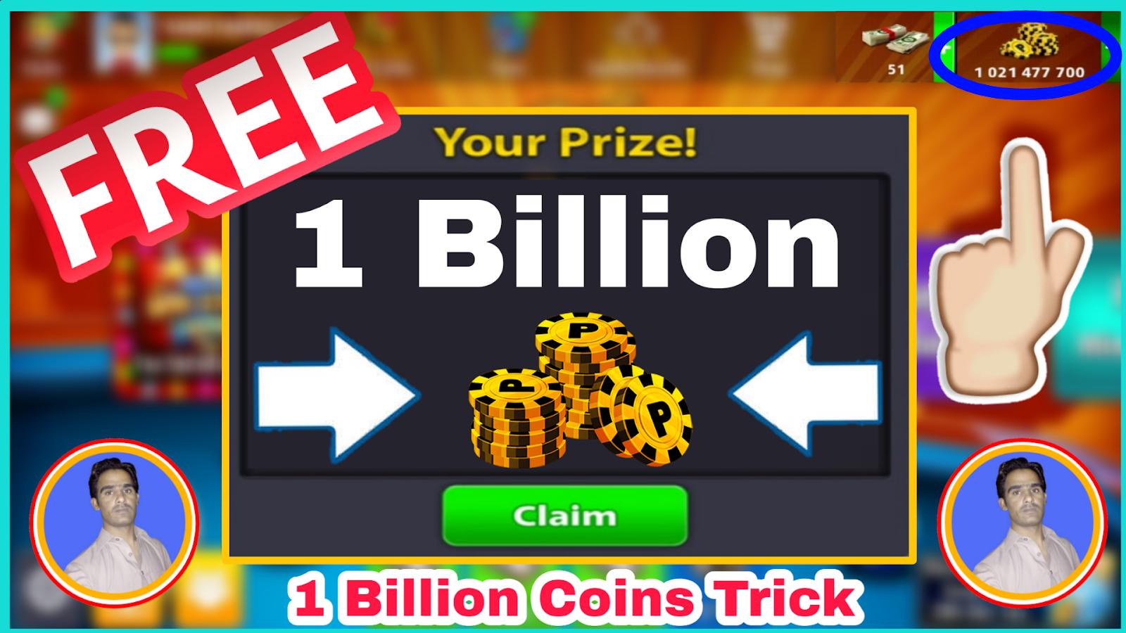 coins gain 8 ball pool no verification