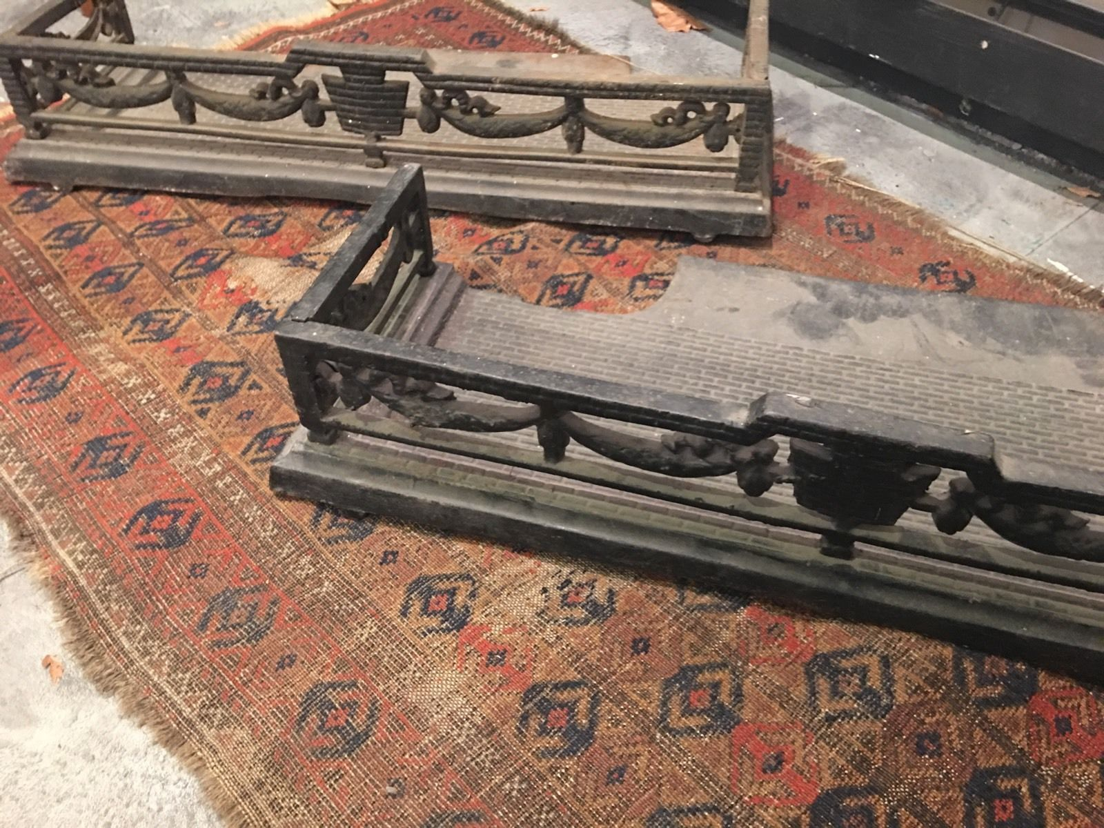 antique victorian fireplace fireplace grate fenders inserts metal