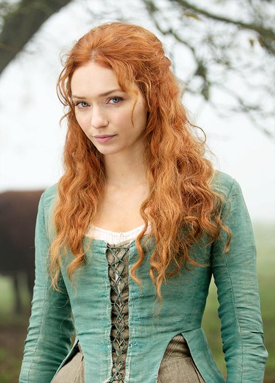 Eleanor Tomlinson in 'Poldark' (2015). x                                                                                                                                                                                 More