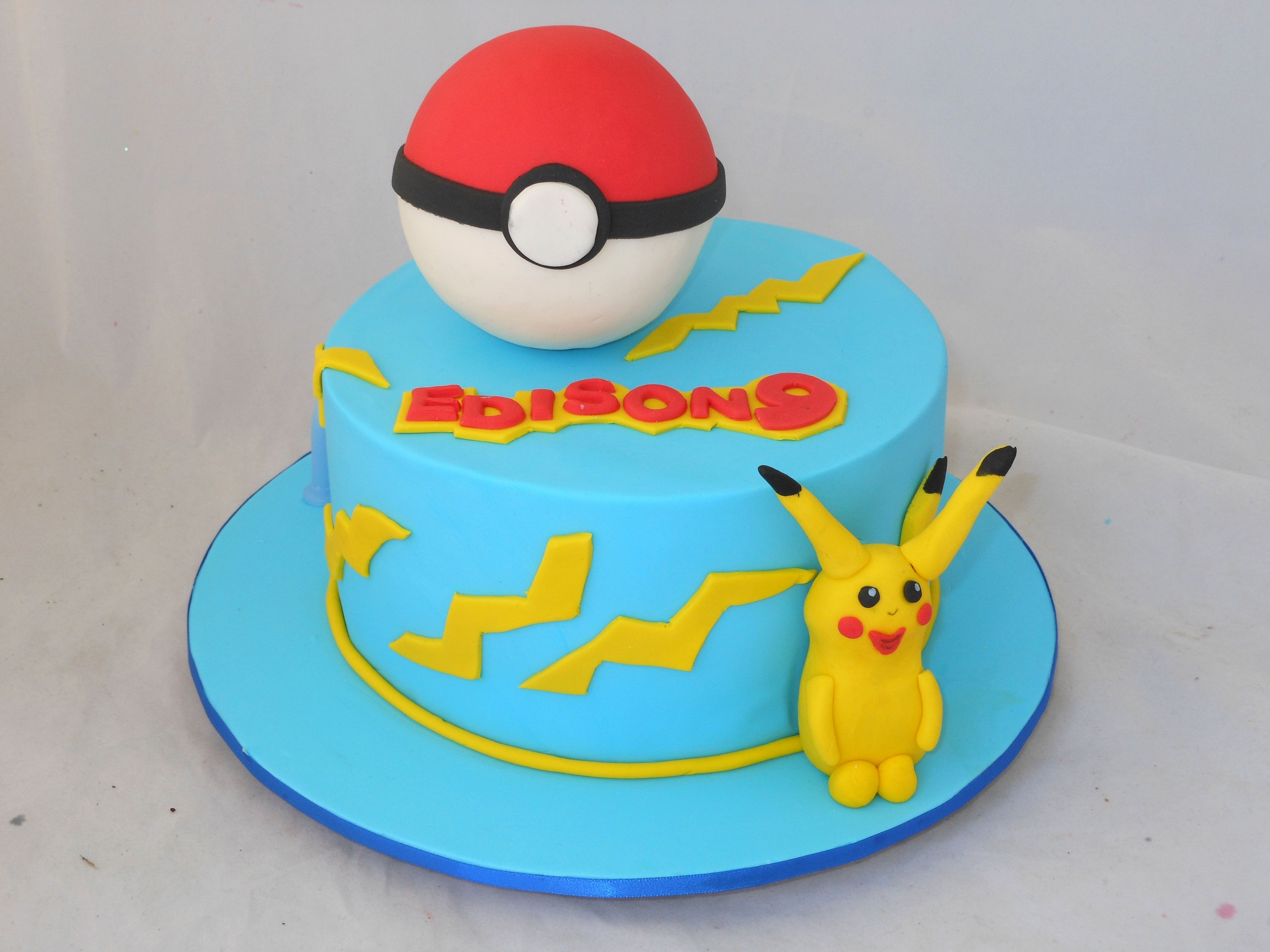 Pokemon Cake by My Cake Place http://www.mycakeplace.com.au/